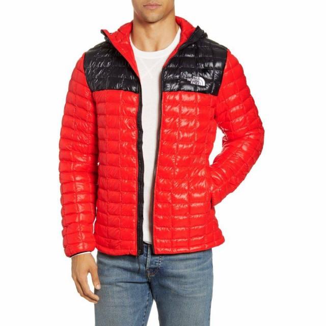 【激安大特価!】  ザ ノースフェイス THE NORTH FACE メンズ コート フード アウター ThermoBall Eco Hooded Parka Fiery Red/Tnf Black, 朝来町 c899325f