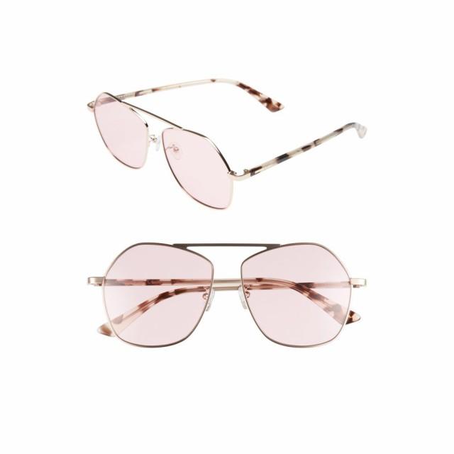 2019年激安 アレキサンダー マックイーン MCQ MCQ ALEXANDER MCQUEEN レディース メガネ・サングラス 59mm アビエイター レディース 59mm Aviator Sunglasses Pink/Havana, 亀田郡:5380ec73 --- kzdic.de