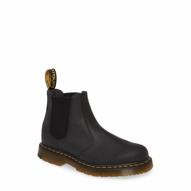 専門ショップ チェルシーブーツ ブーツ メンズ Black Boot DR. ドクターマーチン シューズ・靴 Snowplow Chelsea MARTENS-靴・シューズ