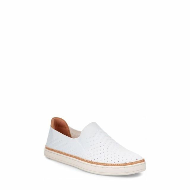 2019年激安 アグ UGG Sammy レディース レディース スリッポン・フラット スニーカー シューズ・靴 White Sammy Slip-On Sneaker White Suede, リフォーム建材屋:57746d47 --- oeko-landbau-beratung.de
