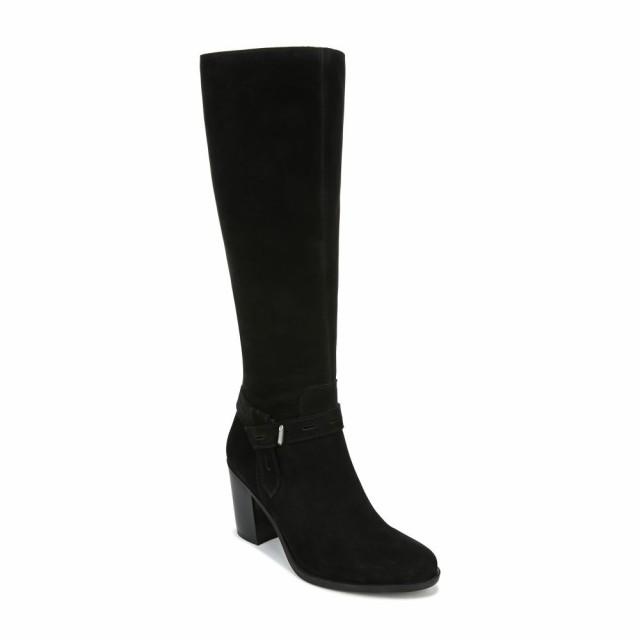 第一ネット ナチュラライザー NATURALIZER レディース Knee ブーツ ロングブーツ レディース シューズ Black・靴 Kamora Knee High Boot Black Nubuck Leather, ヨカワチョウ:ba2a1fc6 --- salsathekas.de