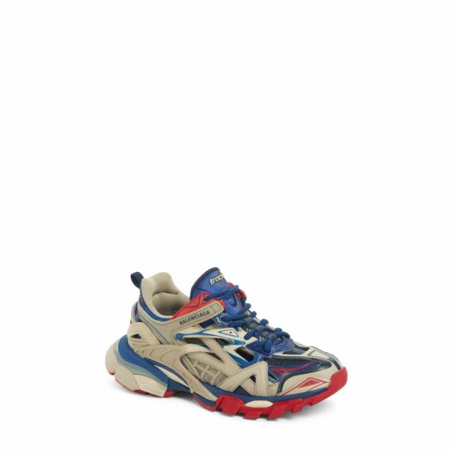 最新人気 スニーカー Sneaker バレンシアガ BALENCIAGA シューズ・靴 Beige/Blue/Red Track Low Top レディース-靴・シューズ