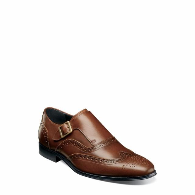 新しく着き メンズ Cognac 革靴・ビジネスシューズ フローシャイム Wingtip ウイングチップ Jetson Monk シューズ・靴 FLORSHEIM Oxford-靴・シューズ