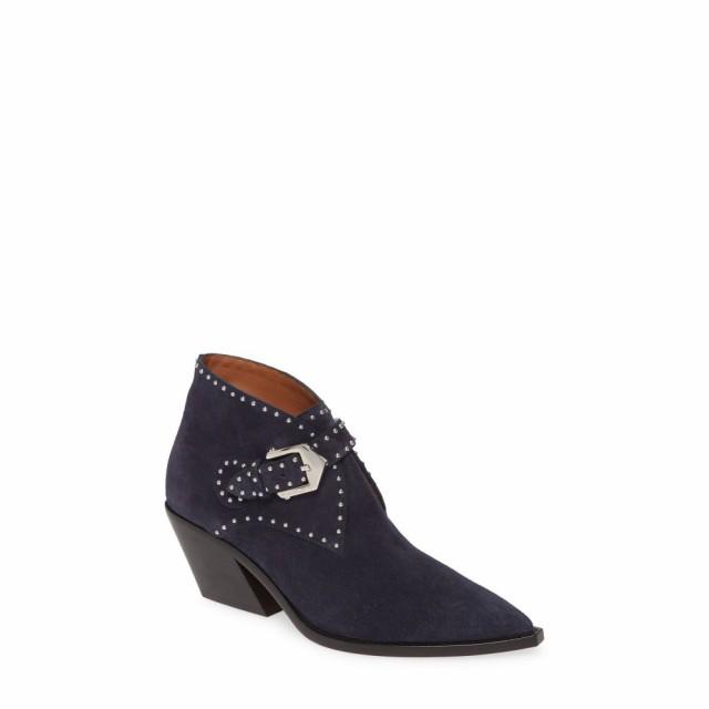ランキング第1位 ジバンシー GIVENCHY シューズ・靴 レディース ブーツ シューズ Boot・靴 Elegant Studs Elegant Pointy Toe Boot Navy, 最新最全の:a4575186 --- ai-dueren.de