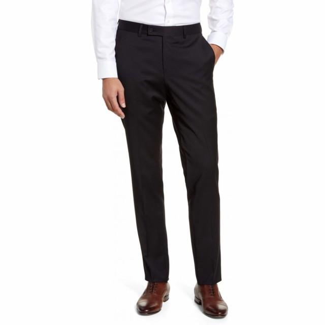 格安SALEスタート! ノードストローム NORDSTROM MENS NORDSTROM SHOP Black メンズ スラックス ボトムス・パンツ Trim Fit Fit Wool Blend Dress Pants Black Caviar, 人吉市:2473543b --- kleinundhoessler.de