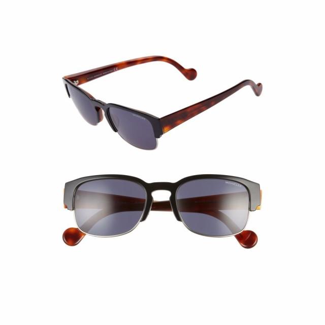超大特価 モンクレール MONCLER 53mm レディース モンクレール メガネ・サングラス Sunglasses 53mm Keyhole Sunglasses Black/Blue/Blonde Havana, MuCCha(ムッチャ):33c92d1f --- eu-az124.de
