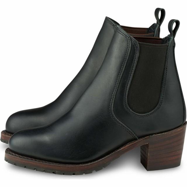 【お買得!】 レッドウィング RED WING レディース ブーツ シューズ・靴 harriet boot Black Boundary Leather, ピカキュウ 952217d7