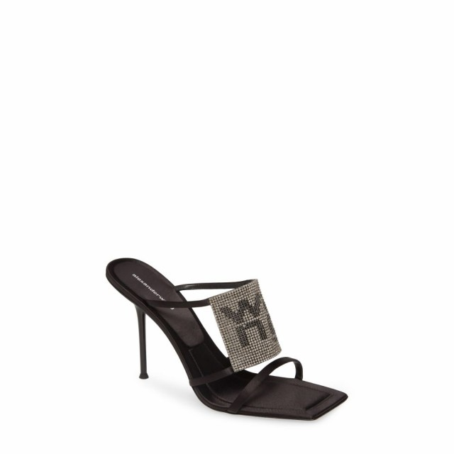 人気大割引 アレキサンダー ワン ALEXANDER シューズ・靴 Sandal WANG レディース サンダル・ミュール ピンヒール シューズ ワン・靴 Julie Stiletto Sandal Black, マイハート:903cb392 --- kzdic.de