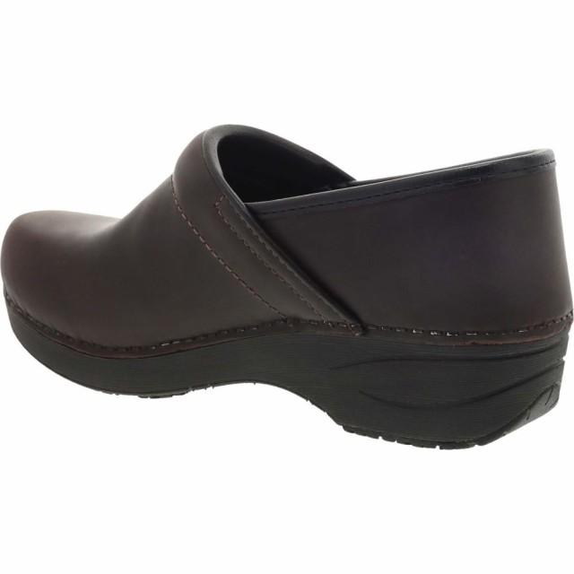 【即日発送】 DANSKO Leather Pro Waterproof クロッグ Brown シューズ・靴 2.0 XP レディース ダンスコ Clog-靴・シューズ