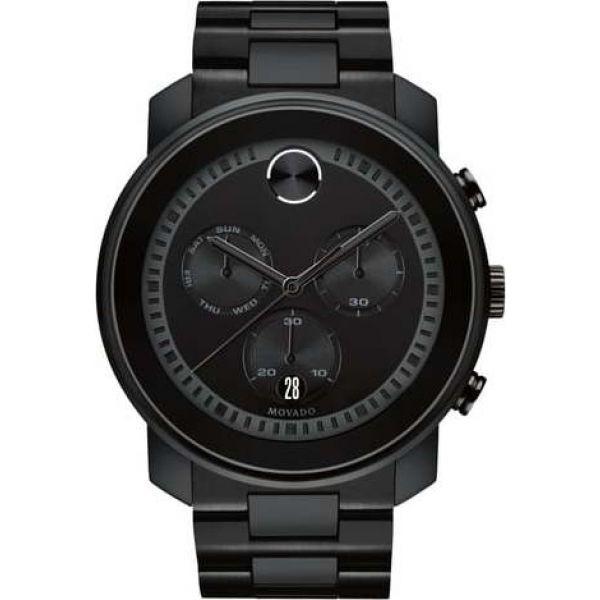 限定価格セール! モバード MOVADO Chronograph メンズ ブレスレット ジュエリー・アクセサリー Metals Bold モバード Metals Chronograph Bracelet Watch, 47mm Black, DIYショップ ルームファクトリー:829b04e9 --- paderborner-film-club.de