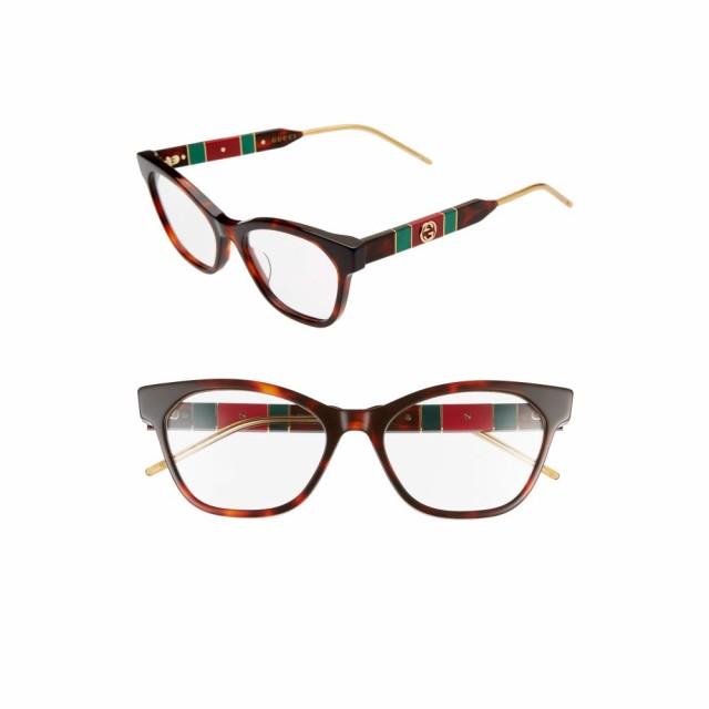 お見舞い グッチ Glasses GUCCI レディース 54mm メガネ・サングラス 54mm Optical Glasses グッチ Havana, メガネ工場:0c8578de --- eu-az124.de