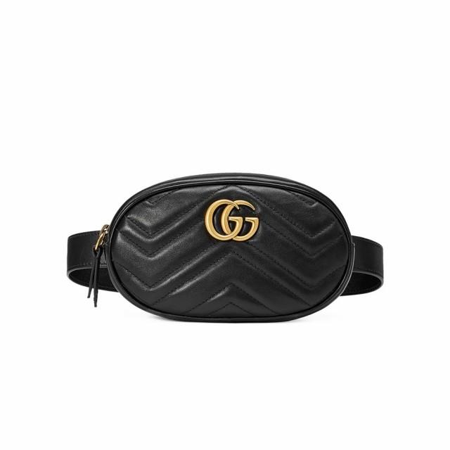 お手頃価格 グッチ Gucci レディース ボディバッグ・ウエストポーチ バッグ GG バッグ グッチ Marmont 2.0 2.0 Belt Bag Black, PC&家電《CaravanYU》:f56cba27 --- united.m-e-t-gmbh.de