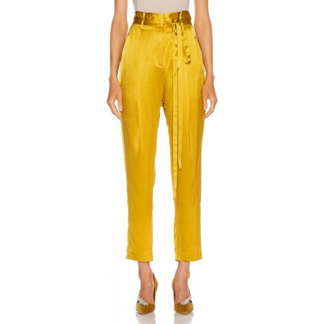 新着 Trouser ミシェル Paperbag Cropped Dijon レディース Mason Michelle ボトムス・パンツ メイソン クロップド-パンツ