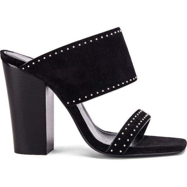 公式の店舗 Saint サンローラン Oak Stud Black サンダル・ミュール シューズ・靴 Sandals レディース イヴ Laurent-靴・シューズ