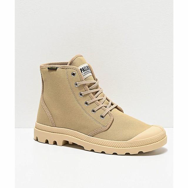 人気定番 パラディウム PALLADIUM BOOTS メンズ ブーツ シューズ・靴 palladium pampa hi originale sahara khaki and beige boots Beige/khaki, 沖縄 土産ギフトの沖縄savira c411585f