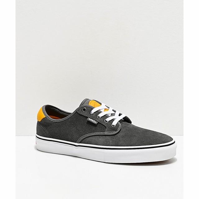 玄関先迄納品 ヴァンズ VANS メンズ スケートボード シューズ・靴 chima pro pewter and mango mojito skate shoes Grey, スターズドリームジャパン f22235d1