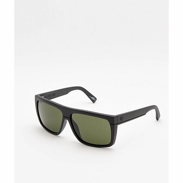 【限定製作】 エレクトリック ELECTRIC メンズ メガネ・サングラス Electric Black Matte Top Top Matte Sunglasses Black & Grey Sunglasses Black, きものみらい:e347c615 --- zafh-spantec.de