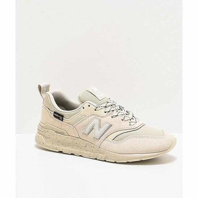 【高知インター店】 ニューバランス NEW BALANCE メンズ スニーカー シューズ・靴 New Balance Lifestyle 997 Oyster Grey Shoes White, 安達町 07f76786