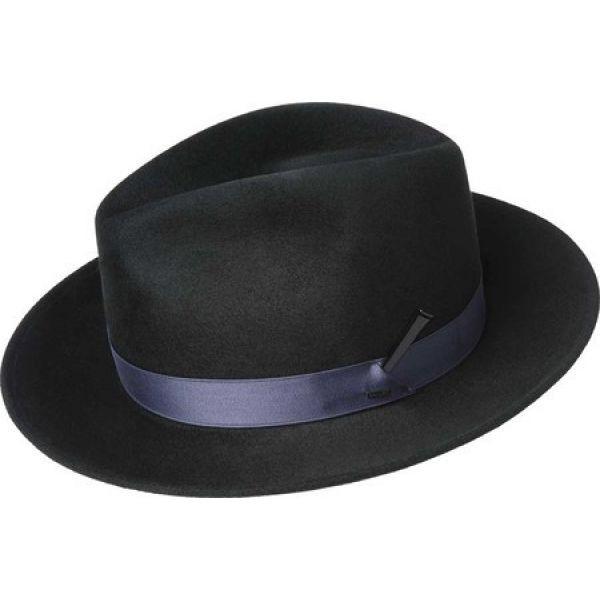 オープニング 大放出セール ベーリー フェドラ オブ Hollywood ハリウッド Bailey of Hollywood メンズ ハット フェドラ 71615 帽子 Busken Fedora 71615 Black, リサイクル通販 スリフティ:613bffd9 --- paderborner-film-club.de