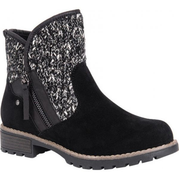 【海外 正規品】 Gerri ブーツ LUKS MUK Boot シューズ・靴 Black レディース ムクルクス Ankle ショートブーツ-靴・シューズ