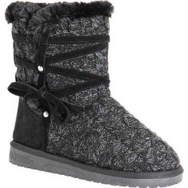 割引発見 ムクルクス MUK LUKS レディース ブーツ LUKS シューズ Boot・靴 Camila Sweater ムクルクス Boot Black, 暮らしの発研:9f37f3e0 --- standleitung-vdsl-feste-ip.de