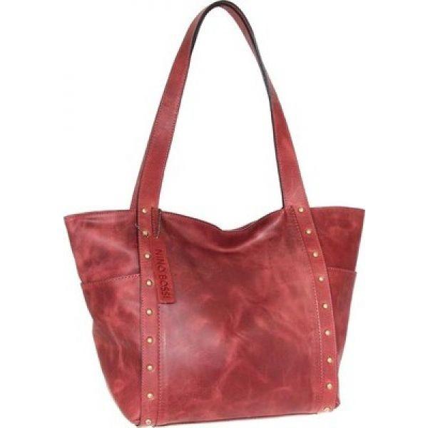 オープニング 大放出セール ニノボッシー Karyn Leather Nino Bossi レディース レディース トートバッグ バッグ Karyn Leather Tote Red, アクセサリーFelice Japan:07dc190f --- chevron9.de