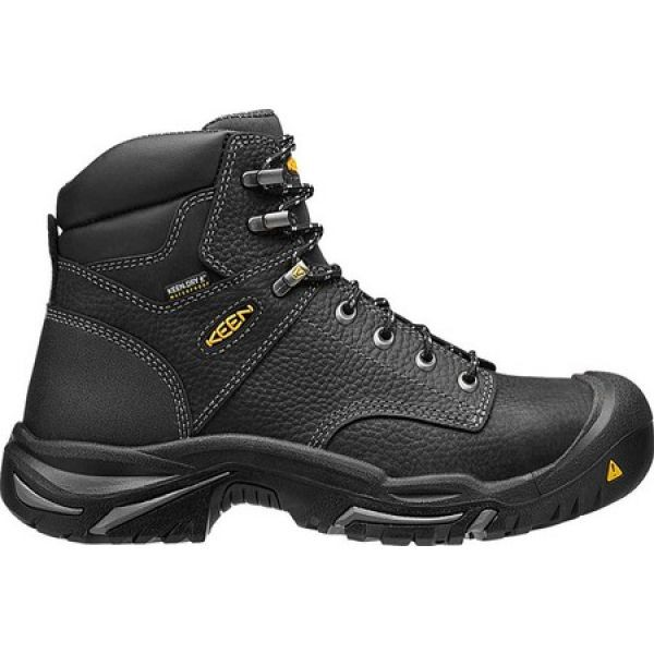 好きに キーン KEEN Utility メンズ ブーツ ワークブーツ シューズ・靴 Mt Vernon 6 Mid Work Boot Black, Bouquet de Bijou ac2d07ad