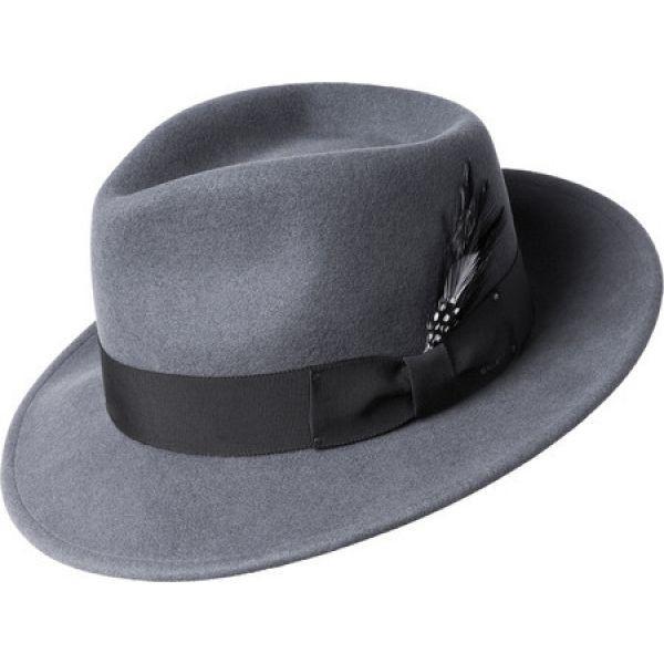 2019年春の ベーリー オブ ハリウッド Bailey of Hollywood メンズ メンズ ベーリー ハット Bailey 帽子 Fedora 7002 Graphite, カイネットショップ 2号店:a78d2077 --- paderborner-film-club.de
