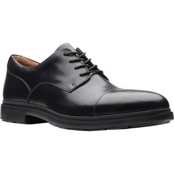 割引クーポン クラークス Clarks メンズ 革靴・ビジネスシューズ シューズ・靴 Un Tailor Cap Toe Oxford Black, サカキウッド 00ec94c0