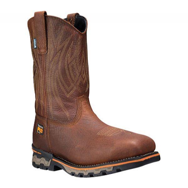 最新のデザイン ティンバーランド Square Timberland PRO メンズ ブーツ シューズ・靴 Toe Ag Boss メンズ Waterproof Square Alloy Safety Toe Boot Red Brown, 久世郡:8aa20299 --- kzdic.de