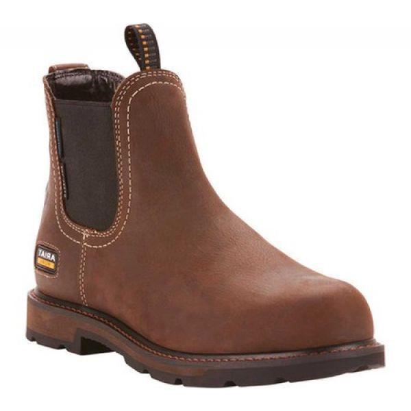 珍しい アリアト Ariat メンズ ブーツ チェルシーブーツ シューズ・靴 シューズ Ariat・靴 Groundbreaker メンズ H2O Steel Toe Chelsea Boot Dark Brown, ソエガミグン:e06d715a --- kzdic.de