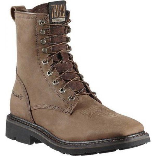 【一部予約!】 アリアト Ariat メンズ ブーツ Alamo スクエアトゥ シューズ Wide・靴 シューズ・靴 Cascade 8 Wide Square Toe Alamo Brown, 鴨方町:492d4b83 --- kzdic.de