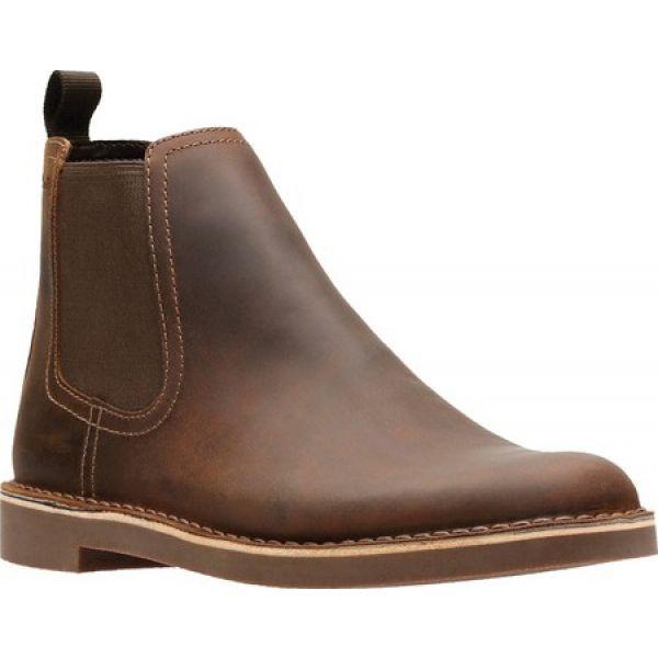 【在庫僅少】 クラークス Clarks メンズ ブーツ Bushacre チェルシーブーツ メンズ シューズ・靴 Bushacre Dark Hill Chelsea Boot Dark Brown, カデンショップ:2ed4200d --- kzdic.de
