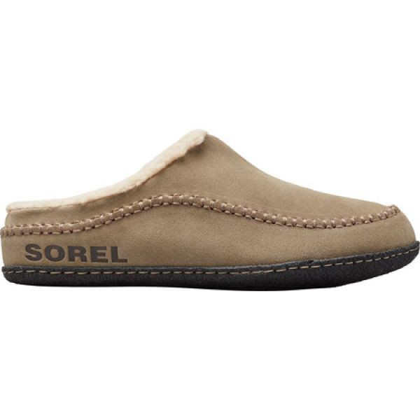 【受注生産品】 ソレル Sorel メンズ スリッパ シューズ・靴 Falcon Ridge II Clog Slipper Sage/Black, AUTO LAND SHIRAOKA 96bde224