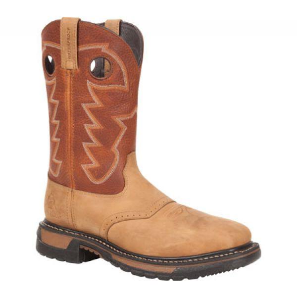 【1着でも送料無料】 ロッキー Rocky メンズ シューズ・靴 11 Western Saddle Original Ride Steel Toe RKYW041 Tan/Ochre, BLOOM ONLINE STORE c4fe1005