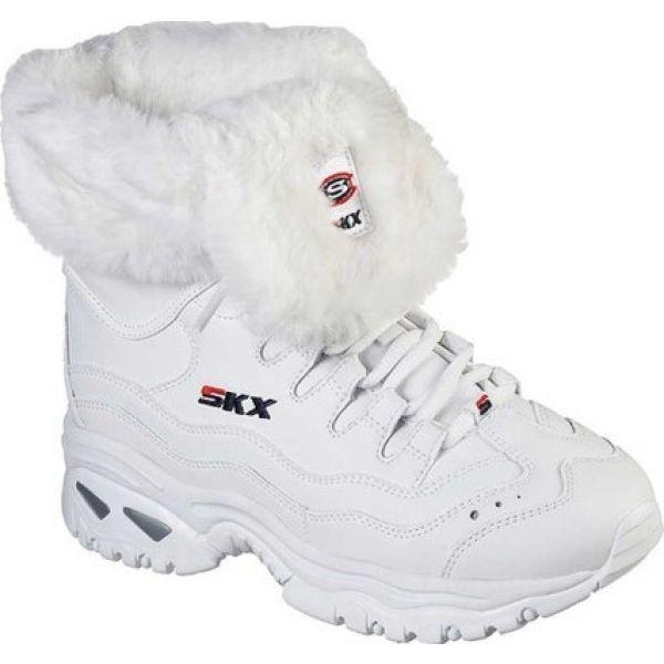【国際ブランド】 スケッチャーズ Skechers レディース ブーツ シューズ・靴 Energy Cool Down Winter Boot White, 2019人気の bf4ebb58