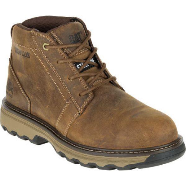 激安通販 キャピタラー カジュアル Caterpillar Chukka メンズ シューズ・靴 ブーツ チャッカブーツ シューズ Boot・靴 Parker Steel Toe Chukka Boot Dark Beige, スニークオンラインショップ:e007aca7 --- eu-az124.de