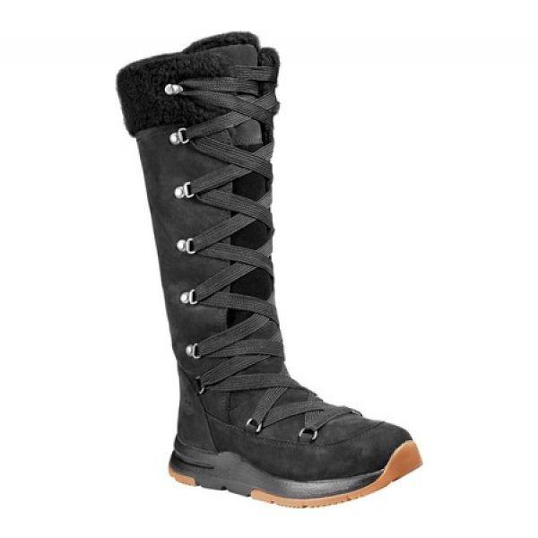 新到着 ティンバーランド Timberland レディース ブーツ シューズ・靴 Mabel Town Mukluk Waterproof Tall Boot Black Nubuck, ヨコガワチョウ fb803427