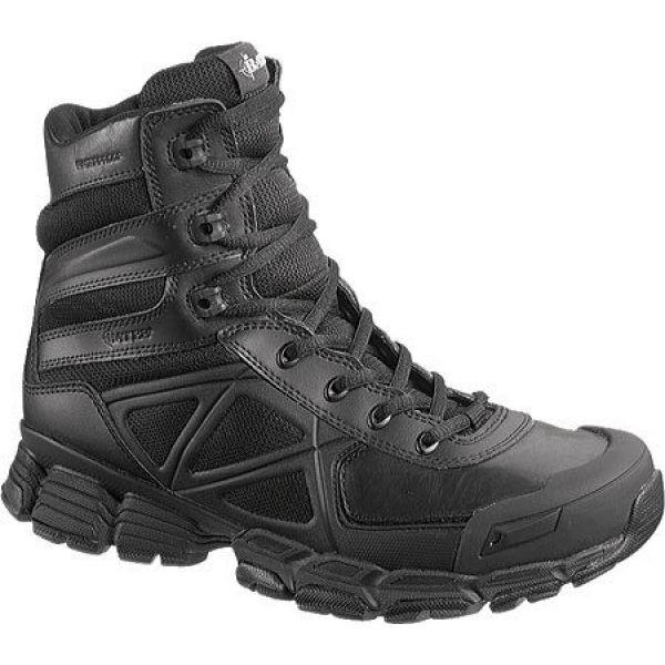 【お気にいる】 ベイツ Zip メンズ Black E04034 Bates Waterproof Velocitor シューズ・靴-靴・シューズ