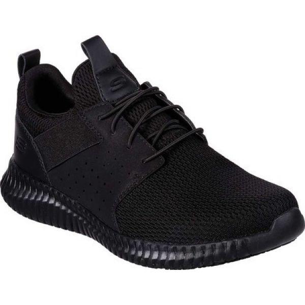 【在庫あり】 スケッチャーズ Skechers Relaxed メンズ スニーカー スニーカー シューズ SR・靴 Work Relaxed Fit Cessnock Niehart SR Sneaker Black, カイジョウグン:d5eb77f4 --- kzdic.de
