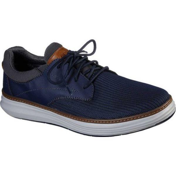 最高 スケッチャーズ Skechers メンズ 革靴・ビジネスシューズ シューズ・靴 Moreno Zenter Oxford Sneaker Navy, Cozy Cafe 9abda371