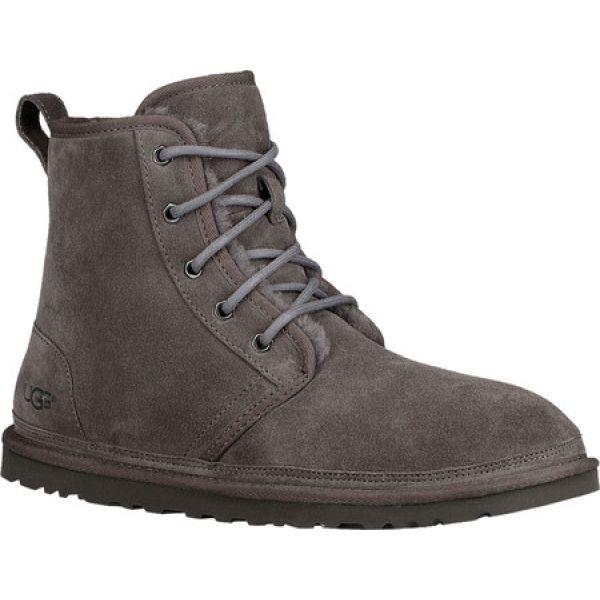 魅力の アグ UGG メンズ Charcoal ブーツ UGG ショートブーツ シューズ シューズ・靴・靴 Harkley Ankle Boot Charcoal Cow, 高田町:898e79c2 --- chevron9.de