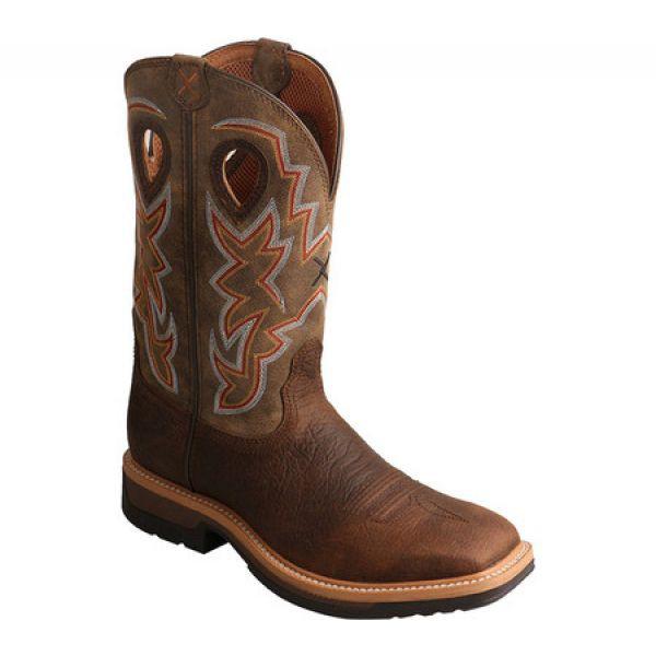偉大な ツイステッドエックス Cowboy Twisted X シューズ・靴 メンズ ブーツ カウボーイブーツ ワークブーツ シューズ・靴 ワークブーツ MLCW022 Lightweight Cowboy Work Boot Tau, Adria Trade:08561a3a --- kzdic.de