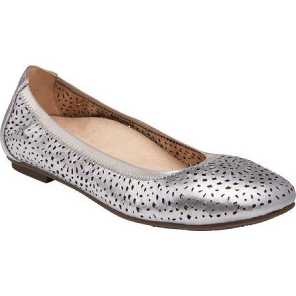 海外並行輸入正規品 バイオニック Vionic レディース Flat スリッポン Robyn・フラット バレエシューズ シューズ・靴 シューズ・靴 Robyn Ballet Flat Pewter Metallic, アリアケマチ:e105e627 --- 1gc.de
