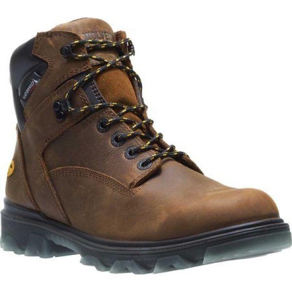 ずっと気になってた ウルヴァリン Wolverine メンズ ブーツ ワークブーツ シューズ・靴 I-90 Mid Soft Toe Work Boot Sudan Brown, トナリー e253ed06