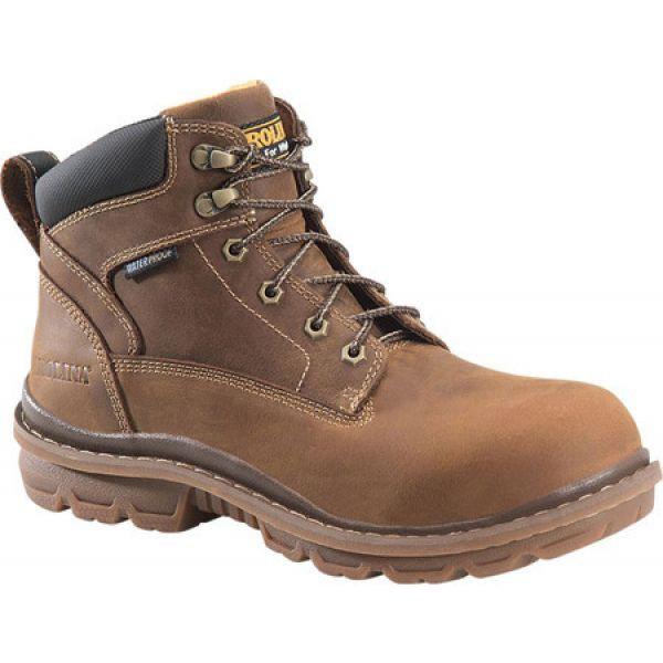 【50%OFF】 6 Mahogany メンズ Boot Neutral Soft シューズ・靴 ワークブーツ Carolina カロリナ CA3058 Lo Waterproof Work Dormite ブーツ Lea Toe-靴・シューズ