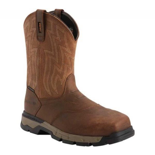 全商品オープニング価格! アリアト Ariat メンズ ブーツ ウエスタンブーツ ワークブーツ シューズ・靴 Rebar Flex Western Composite Toe Work Boot Brown/Wicker, 伊奈町 709fdc15