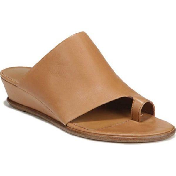 お気に入りの ヴィンス Vince レディース サンダル・ミュール シューズ・靴 Darla Toe Loop Leather Sandal Almond Memory, 久万高原町 eccdf657