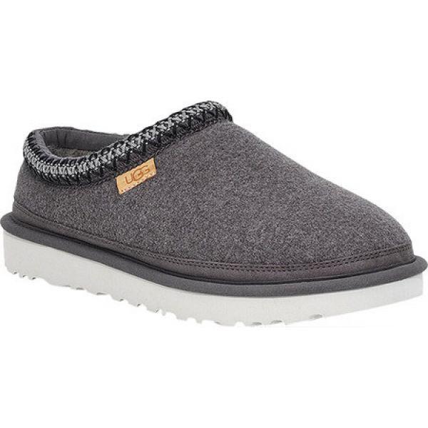 保障できる アグ UGG メンズ UGG Grey スリッパ シューズ・靴 Wool Tasman Wool Clog Slipper Grey Wool, オオヨドチョウ:b16a6069 --- kleinundhoessler.de