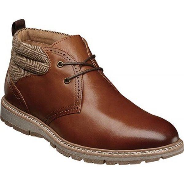 クラシック ステイシー Grantley アダムス Stacy Adams メンズ Toe ブーツ チャッカブーツ シューズ・靴 ブーツ Grantley Plain Toe Chukka Boot Pecan Leather/Herringbo, GINZA XIAOMA:8cc7a8e4 --- kulturbund-sachsen-anhalt.de